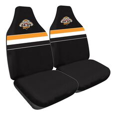NRL TIGERS SEAT COVER SIZE 60