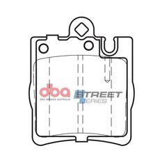 DBA SS STREET SERIES BRAKE PADS [ Mercedes 1995-2014 R ], , scaau_hi-res