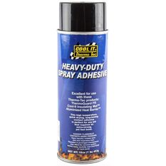 THERMO TEC HEAVY DUTY SPRAY ADHESIVE 16.75OZ CAN, , scaau_hi-res