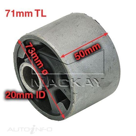Engine Mount- Bush left Ford laser/Mazda 323 49.5mm, , scaau_hi-res