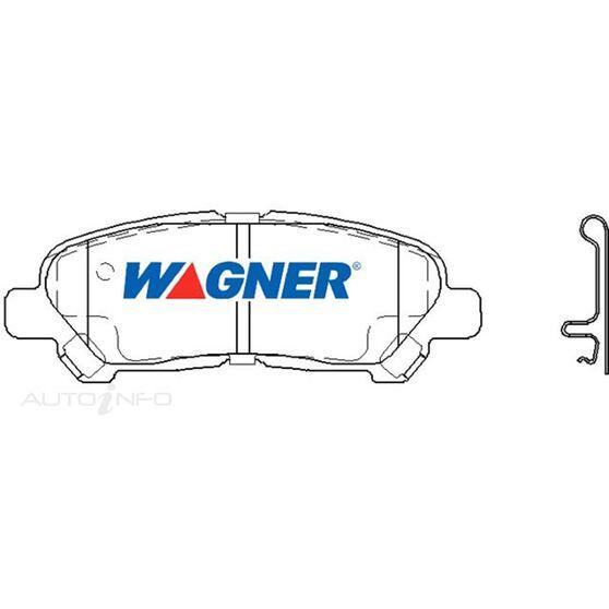 Wagner Brake pad [ Toyota Kluger 2007-2014 R ], , scaau_hi-res