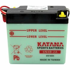 KATANA MOTORCYCLE BATTERY - 6N4B-2A, , scaau_hi-res