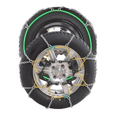 SNOW CHAIN - NEW SELF TENSION - SEE FITMENT CHART FOR SIZING