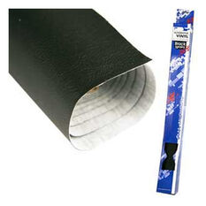 .7 X 2M MINI ROLL BLACK VINYL COURSE GRAIN, , scaau_hi-res