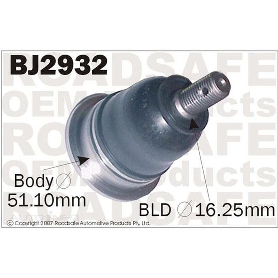 TOYOTA CAMRY/AVALON 00-03 LOWER BALL JOINT, , scaau_hi-res