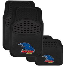 AFL CAR MATS SET OF 4 CROWS, , scaau_hi-res
