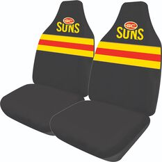 AFL GOLD COAST SUNS SEAT COVER SIZE 60, , scaau_hi-res