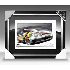 A3 SIZE - 1986 HOLDEN VK COMMODORE SS GRP A ALLAN GRICE / GRAEME BAIL (B024)