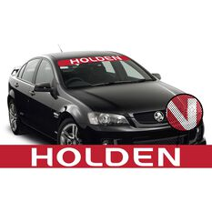 HOLDEN ITAG SEE-THRU SUN VISOR (V8 SUPERCARS REPLICA)