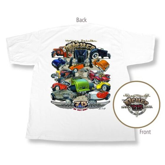 HOLLEY DEUCE ANNIVERSARY T-SHI RT WHITE X-LARGE, , scaau_hi-res