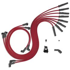 IGNITION LEAD SET HOLDEN RED UNIVERSAL L