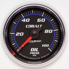 "COBALT 2-1/16"" OIL PRESSURE 0-100PSI, MECHANICAL, 10FT"