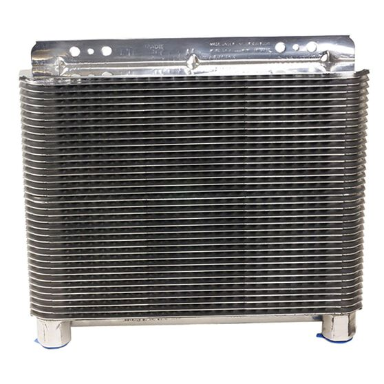 B&M TRANS COOLER POLISHED 11X8X 1-1/2  20500 GVW, , scaau_hi-res