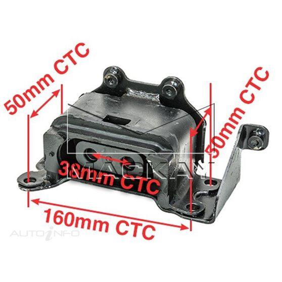 Engine Mount Left - CHRYSLER PT CRUISER PT - 2.0L I4  PETROL - Manual & Auto, , scaau_hi-res