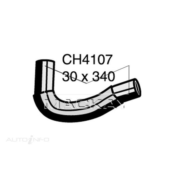 Radiator Upper Hose  - TOYOTA YARIS NCP90R - 1.3L I4  PETROL - Manual & Auto, , scaau_hi-res