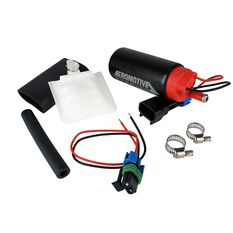 STEALTH 340 E85 FUEL PUMP 340 LPH OFFSET INLET / OFF OUT, , scaau_hi-res