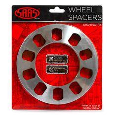 WHEEL SPACER X 2 UNIV 5 STUD 8MM, , scaau_hi-res
