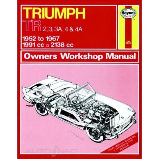 TRIUMPH TR2, TR3, TR3A, TR4 & TR4A (1952 - 1967), , scaau_hi-res