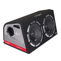 "12"" TWIN ACTIVE ENCLOSURE, 366MM X 745MM X 430MM, 800 WATTS"