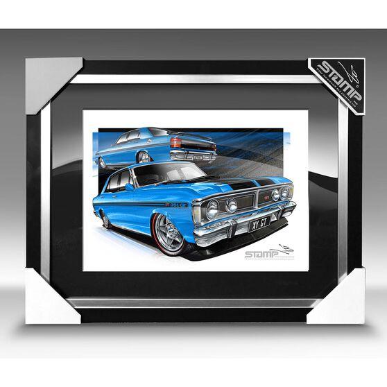 A3 SIZE - XY GT TRUE BLUE (FT073), , scaau_hi-res
