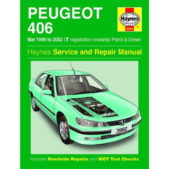 PEUGEOT 406 PETROL & DIESEL (1999 - 2002), , scaau_hi-res