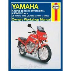YAMAHA XJ600S (DIVERSION, SECA II) & XJ600N FOURS 1992 - 2003, , scaau_hi-res