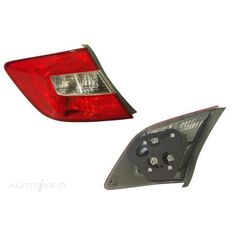 HONDA CIVIC  FB  02/2012 ~ 04/2016  TAIL LIGHT  LEFT HAND SIDE  DOES NOT FITHYBRID, , scaau_hi-res