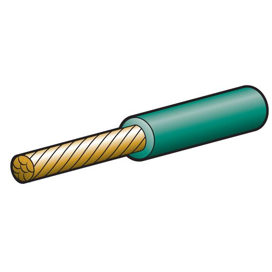 CABLE S/CORE 6MM 50A 30M GREEN, , scaau_hi-res