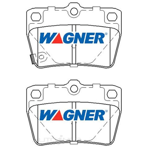 Wagner Brake pad [ Chery & Toyota 1994-2010 R ], , scaau_hi-res