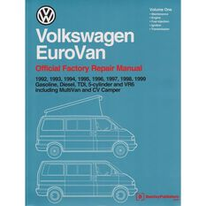 REPMAN  VW EUROVAN 2VOLS (GAS  DIES TDI 5CYL VR6 INC MULTIVAN&CV CAMPER) 1992-1999  9780837603353
