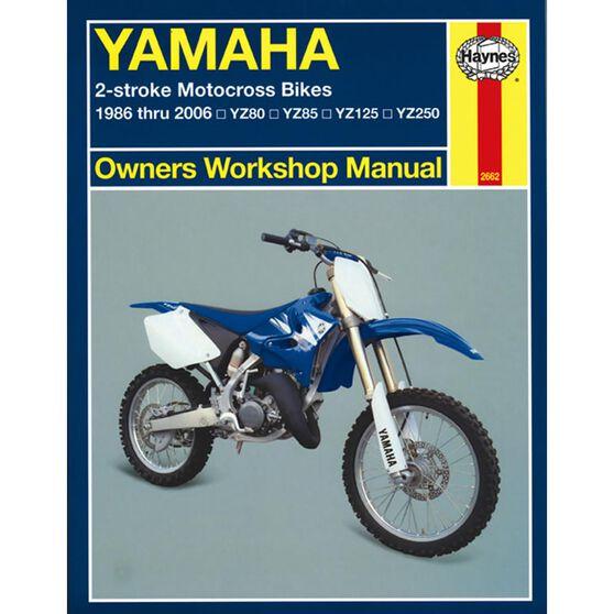 YAMAHA 2-STROKE MOTOCROSS BIKES 1986 -20 06, , scaau_hi-res