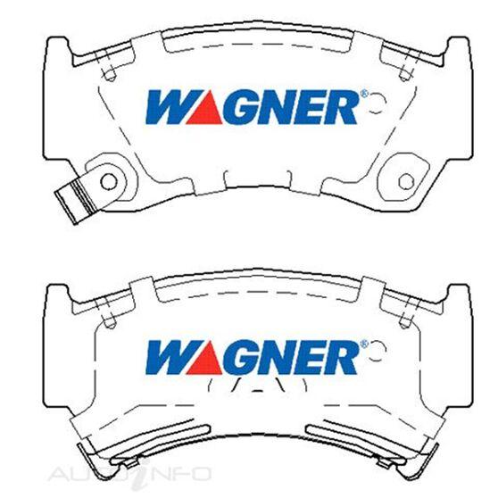 Wagner Brake pad [ Mazda & Nissan 1996-2000 F ], , scaau_hi-res