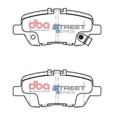 DBA SS STREET SERIES BRAKE PADS [ Honda Odyssey 2005-2014 R ], , scaau_hi-res