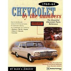 PARTSREF  CHEVROLET BY THE NUMBERS 1960-1964 9780837609362, , scaau_hi-res