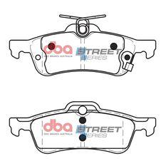 DBA SS STREET SERIES BRAKE PADS [ Honda Civic FK / 2012-> R ], , scaau_hi-res