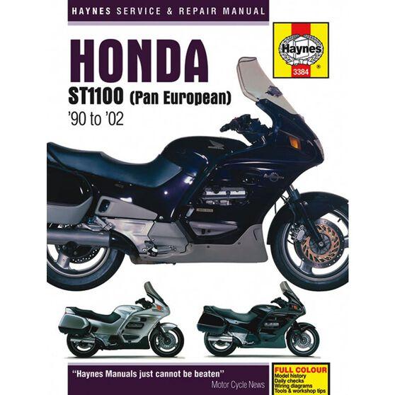 HONDA ST1100 PAN EUROPEAN V-FOURS 1990 - 2002, , scaau_hi-res