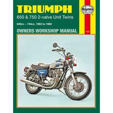 TRIUMPH 650 & 750 2-VALVE UNIT TWINS 1963 - 1983, , scaau_hi-res