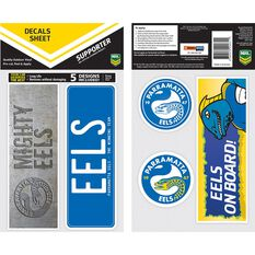 EELS ITAG BUMPER DECALS - SET OF 5