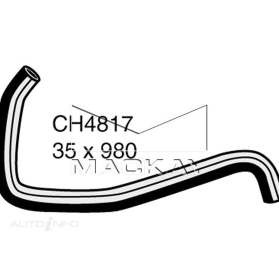 Radiator Upper Hose  - HYUNDAI SONATA NF - 2.4L I4  PETROL - Manual & Auto, , scaau_hi-res