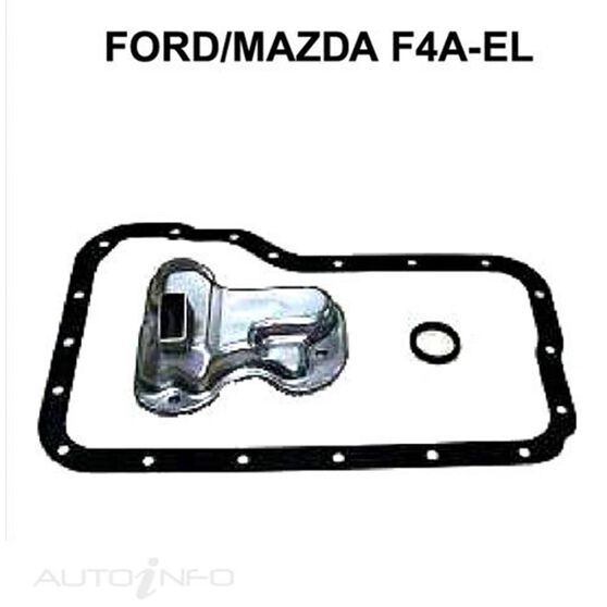 Jatco F4A-El 4 Speed Mazda 121 90-97, , scaau_hi-res