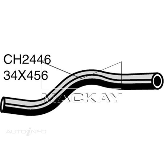 Radiator Upper Hose  - FIAT REGATA . - 1.6L I4  PETROL - Manual & Auto, , scaau_hi-res