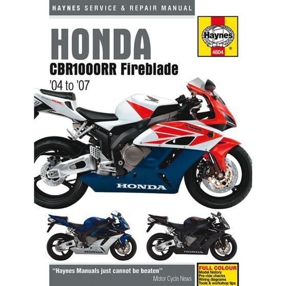 HONDA CBR1000RR FIREBLADE 2004 - 2007, , scaau_hi-res