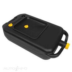 TOLEDO PORTABLE OIL DRAIN PAN & CAN 10L, , scaau_hi-res