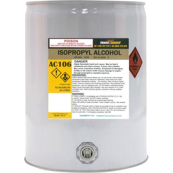 Trade Direct Isopropyl Alcohol - 20L