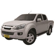 TRADIES CANVAS SEAT COVER TO SUIT: ISUZU D MAX TF DUAL CAB  LSU, LSM, LST 12- CURRENT