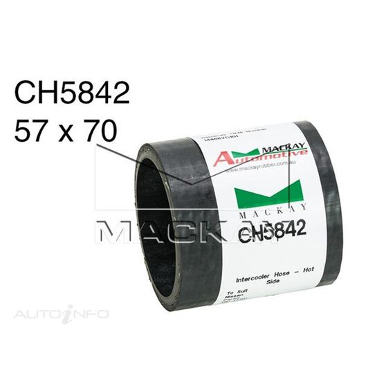 Turbocharger Intercooler Hose  - NISSAN PATROL GU - 3.0L I4 Turbo DIESEL - Manual & Auto, , scaau_hi-res