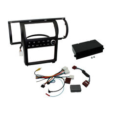 INSTALL KIT TO SUIT NISSAN SKYLINE V35 350GT DUAL ZONE (METALLIC CHARCOAL), , scaau_hi-res