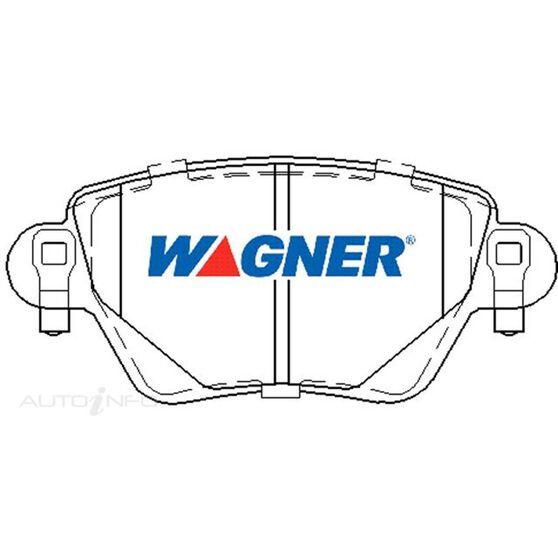 Wagner Brake pad [ Ford/Jaguar & Renault 2000-2014 R ], , scaau_hi-res