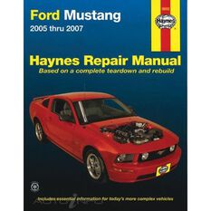 FORD MUSTANG HAYNES REPAIR MANUAL FOR 2005 THRU 2014 (DOES NOT INCLUDE INFORMATION SPECIFIC TO SHELBY GT500 COBRA MODELS)