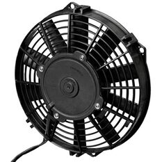 "9"" ELECTRIC THERMO FAN STR STRAIGHT BLADES - PUSHER TYPE"